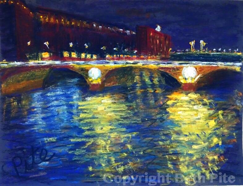 Pont Neuf, Night